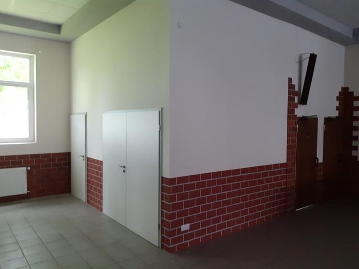 Errichtung einer barrierefreien Toilette in der Schützenhalle